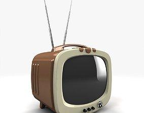 visual Vintage TV 3D