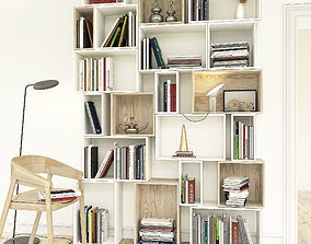 3D decorative Bookshelves