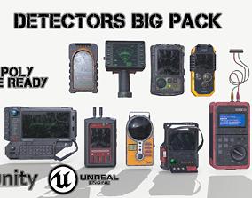 Detectors big pack 3D asset