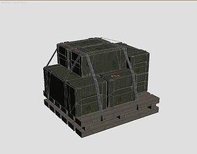 3D model Military crate