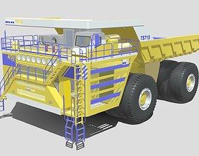 3D Belaz 75710 Dump Truck