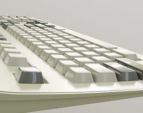 retro-keyboard 90s desktop computer keyboard model