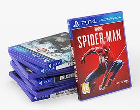 3D DVD Case disks for PS4