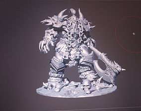 Hero of Storm Thrall hell skin 3D printable model