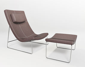 Lounge chair by intertime 3D