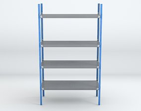 3D model low-poly Shelving