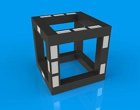 Futuristic Dice 3D printable model