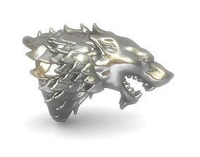 GoT House Stark Heraldry 3D print model