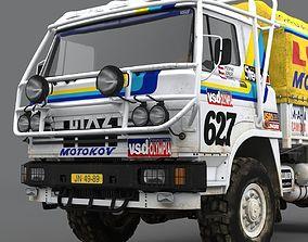 LIAZ 1985 Dakar version 3D model