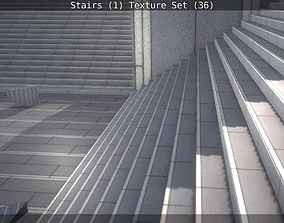 Stairs 1 Texture - Set 36 3D model