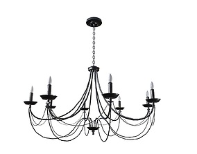 Chandelier Game Ready 3D asset