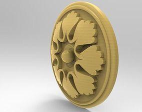 3D Decorative rosette for CNC