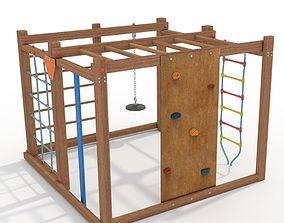 3D model Climbing Frame Children Playground