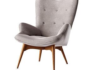 Lounge chair Contour 3D