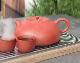 Tea set 3D PBR