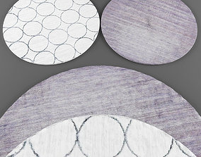 3D asset Rugs collection 198