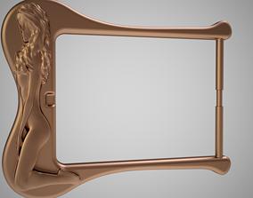 Girl Figure Buckle 3D printable model