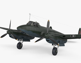 3D model Petlyakov Pe-2 aircraft