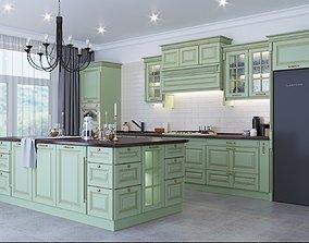 food Classic kitchen 3D