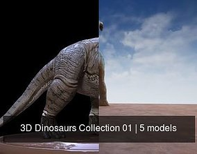 3D Dinosaurs Collection 01