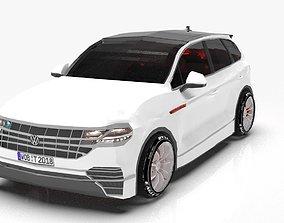 Lowpoly Basic Volkswagen Touareg 3D asset