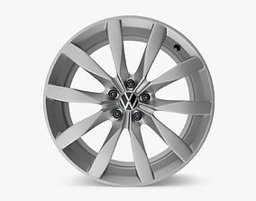 3D VW Rims Golf Aluminium