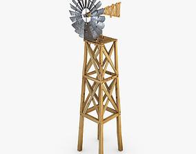 3D model Old WindMill blades