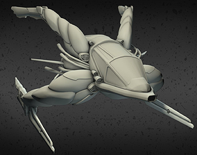 3D printable model Exploration Spaceship