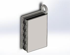 3D print model Book Keys Holder