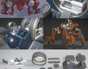 3D asset Terrain Walker Collection