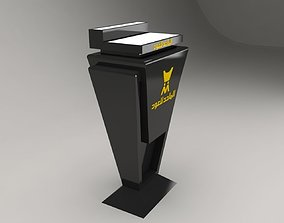 display stand 1 All perfume model are included 3D