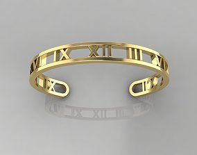 Bracelet 8 3D print model time