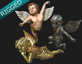 3D asset Cherub Angel