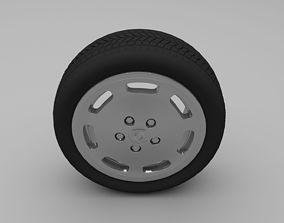 porsche 3D Porsche Wheel
