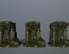 statue 2 greek 3D model realtime