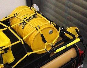 3D printable model RC Oil Drum Crawler Car RC Truck Car 1
