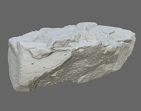 3D printable model print rock
