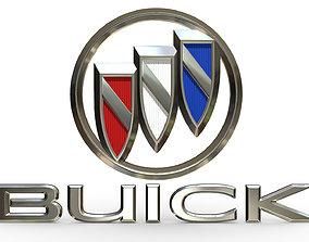 buick logo 1 3D