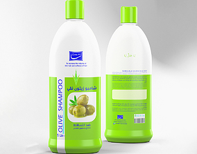models 3D model Shampoo bottle