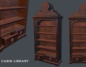 Pirate Library 3D asset