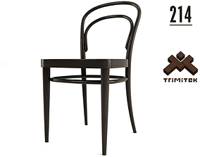 Thonet Chair No 214 3D asset