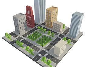 Game City 3D asset