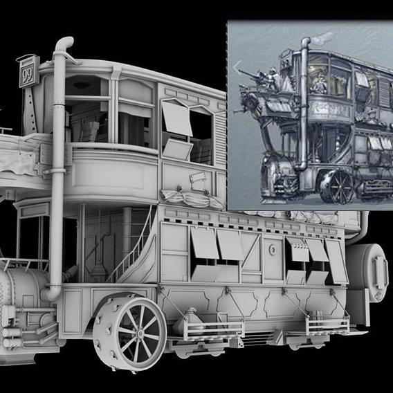 Future Punk Bus