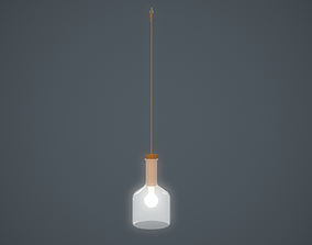 hanging lamp cylinderical 3D