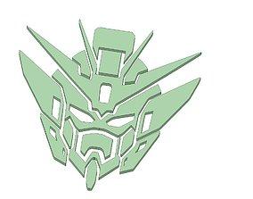 3D print model Gundam Head