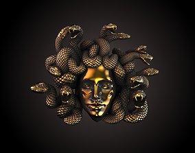jewelry 3D printable model Medusa Head