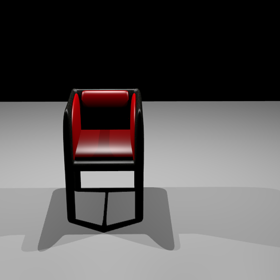 new chair 2020 3d model