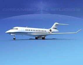 Global Express 6000 V03 3D model