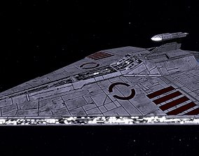 3D model STAR WARS - ACCLAMATOR 2 CLASS ASSAULT SHIP