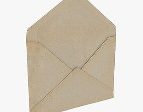3D model Envelope - Opened